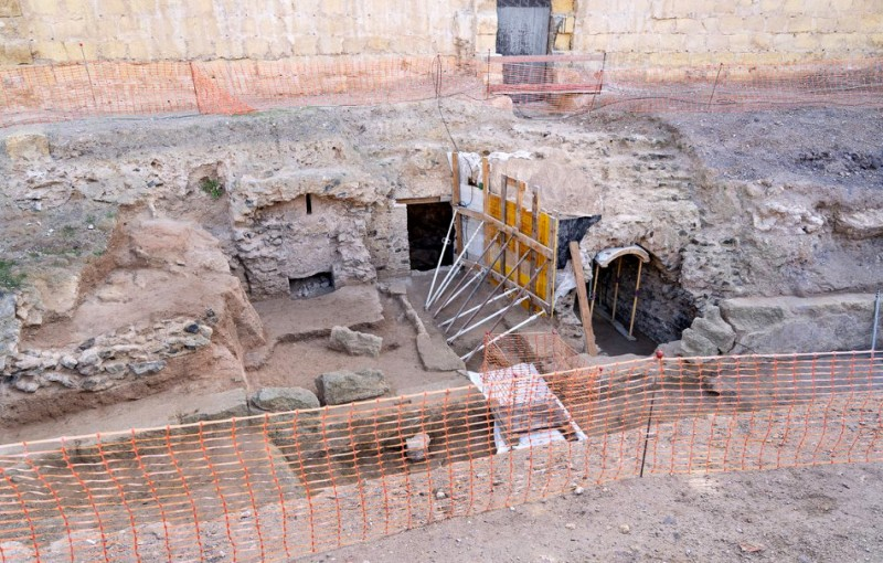 "Gladiator and animal ""prisons"" found intact at the Roman amphitheatre of Cartagena"