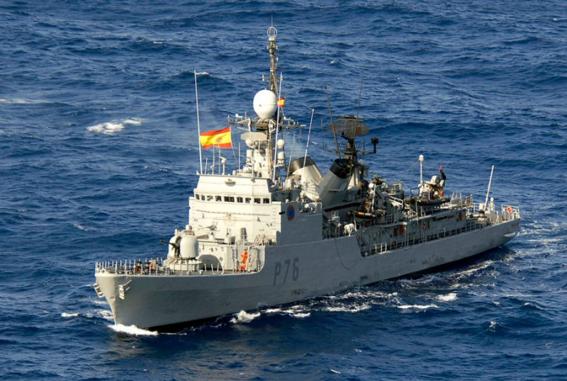 "Provocative and ""childish"" gesture by Spanish warship reported off Gibraltar"
