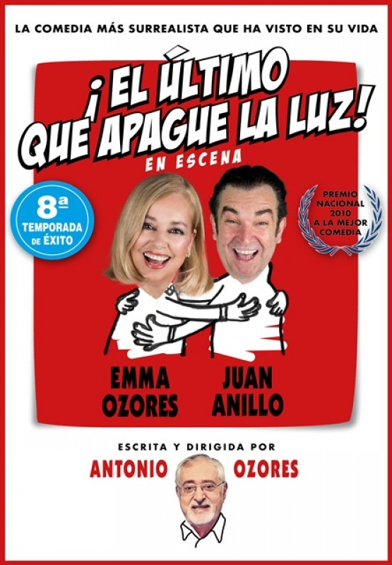 21st December Águilas comedy theatre with El Último que apague la Luz