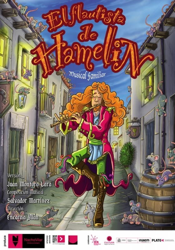 22nd December The Magic Flautist of Hamelin in Águilas; children's musical theatre