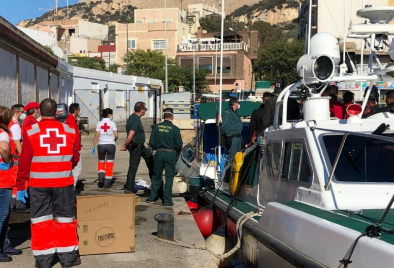 269 migrants brought ashore in Cartagena since Tuesday
