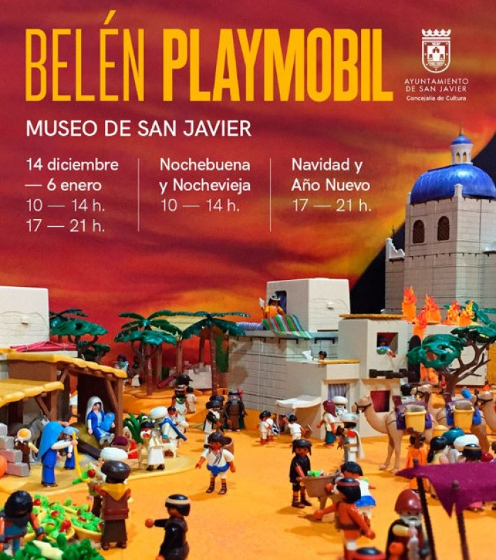 <span style='color:#780948'>ARCHIVED</span> - 7th to 16th December 2018: what&#39;s on in the municipality of San Javier
