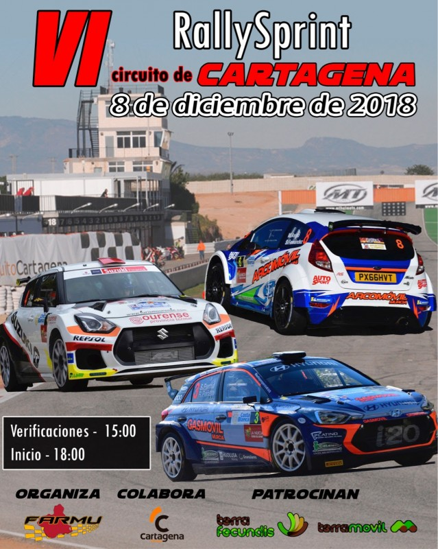 8th December Cartagena Rallysprint