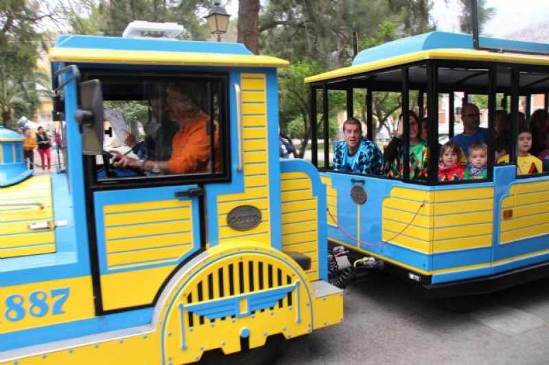 Christmas Tourist Train timetable Alhama de Murcia from 15th December 2018 to 7th January 2019