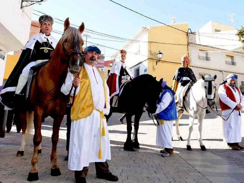Christmas programme 2018: Outlying districts of Alhama de Murcia
