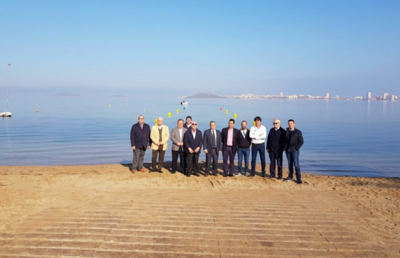 Four boat launch ramps installed around the Mar Menor