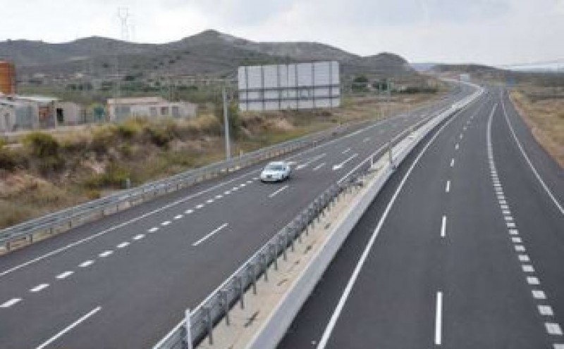 Cartagena-Vera ghost motorway tolls to be cut by 30 per cent in January