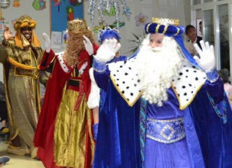 5th January 2019 Three Kings parade in Aguilas