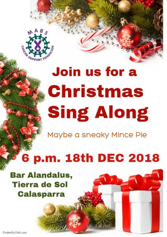 18th December MABS Calasparra Christmas Sing Along