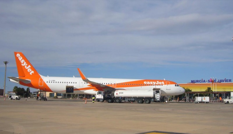 Passenger numbers up again at San Javier airport in its penultimate full month of flights