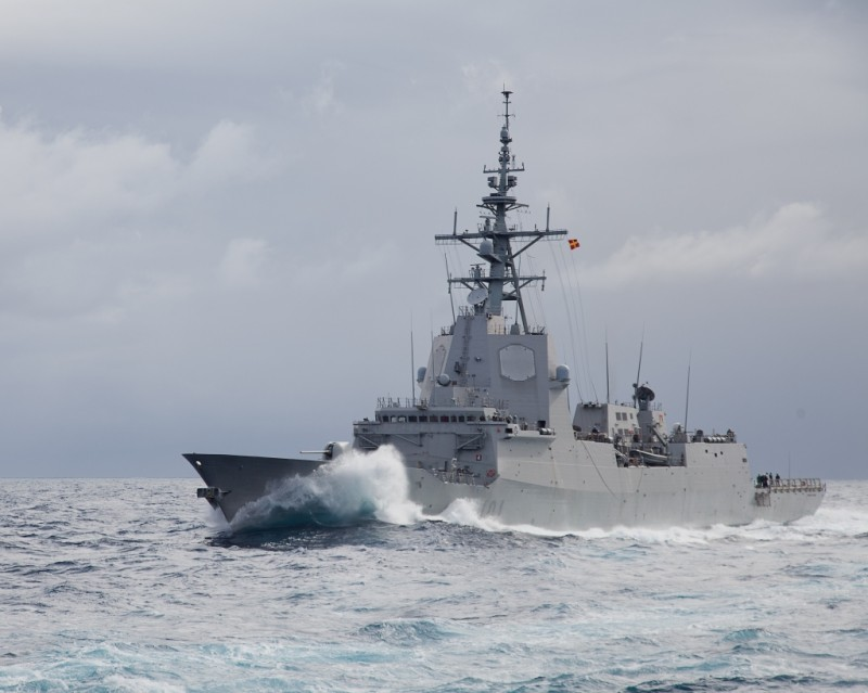 <span style='color:#780948'>ARCHIVED</span> - 15th and 16th December Spanish Naval Frigate open for visits in Cartagena