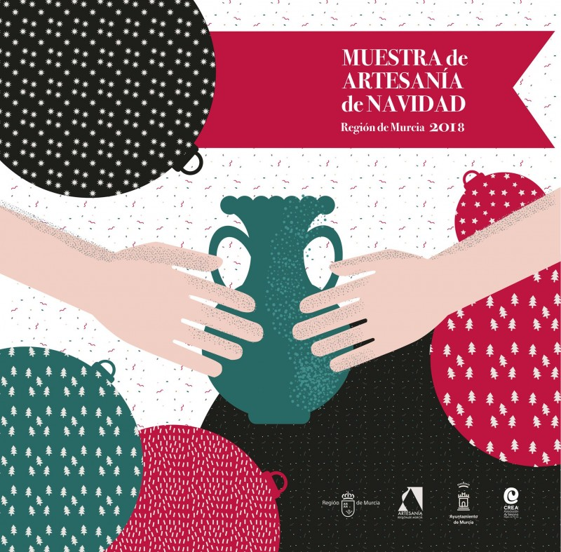 To 5th January the Christmas Artisan Fair in Murcia City offers 70 stands of hand-made goods