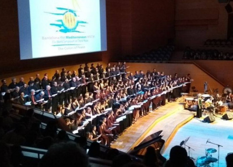 14th April, choral concert at the Auditorio Víctor Villegas in Murcia