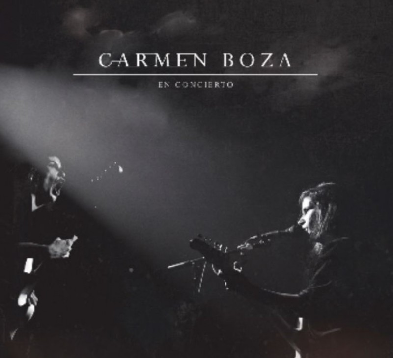 22nd February, singer-songwriter Carmen Boza at the Auditorio Víctor Villegas in Murcia
