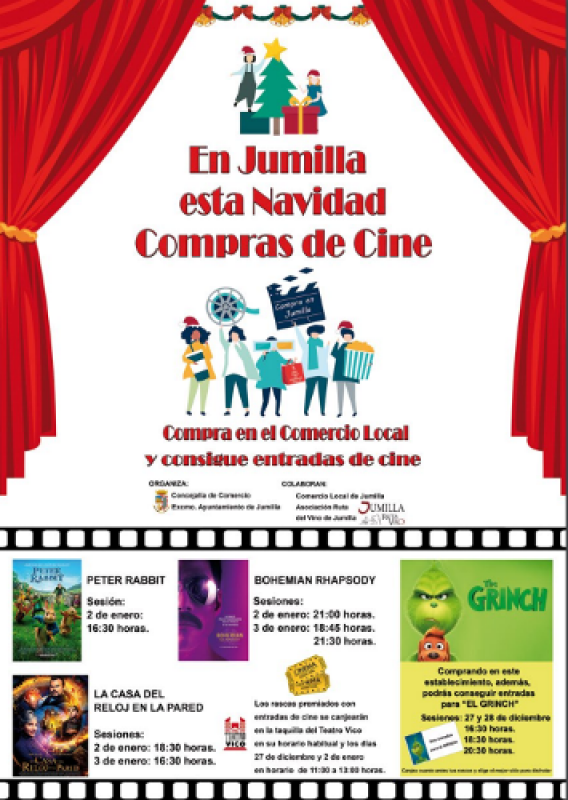 Until 31st December, free prize draw for Christmas shoppers in Jumilla