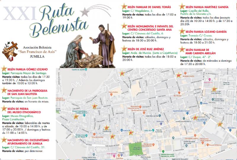 Jumilla Christmas Nativity scene route; XXI Ruta Belenista
