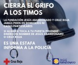 Fraudsters in Murcia conning cash out of donators to the Red Cross and Jesús Abandonado