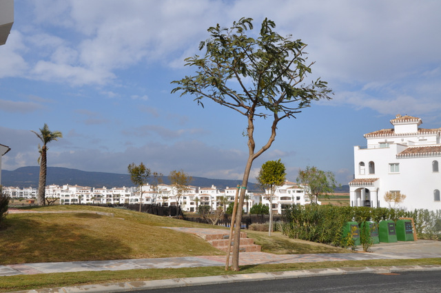 Where is the Hacienda Riquelme Golf Resort?
