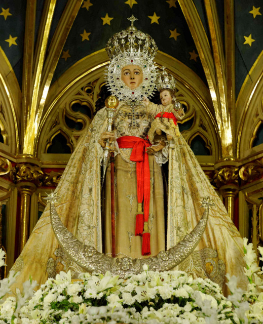 <span style='color:#780948'>ARCHIVED</span> - Murcia Feria begins with the arrival of the Virgen de la Fuensanta