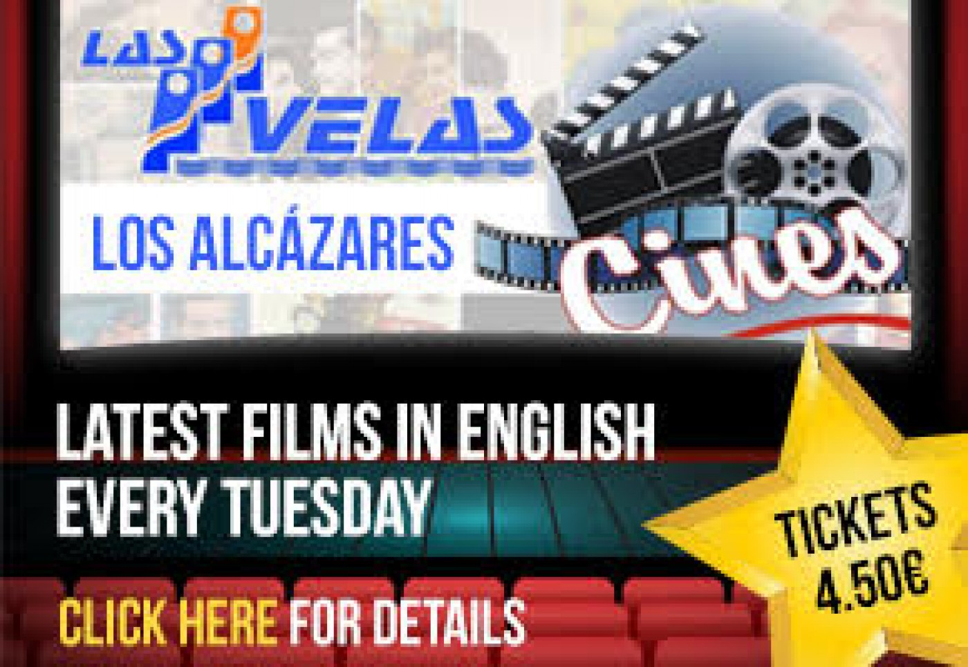 Las Velas Cinema in Los Alcázares