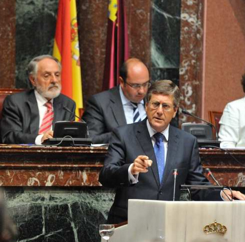 2013 Murcian  government budget modified to include Corvera loan