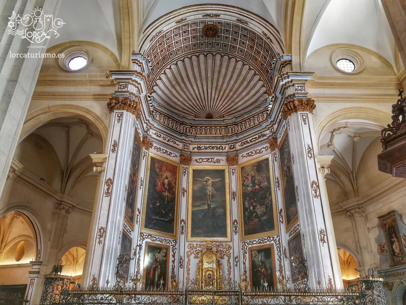 <span style='color:#780948'>ARCHIVED</span> - Daily tours of the Church of San Patricio in Lorca January 2019