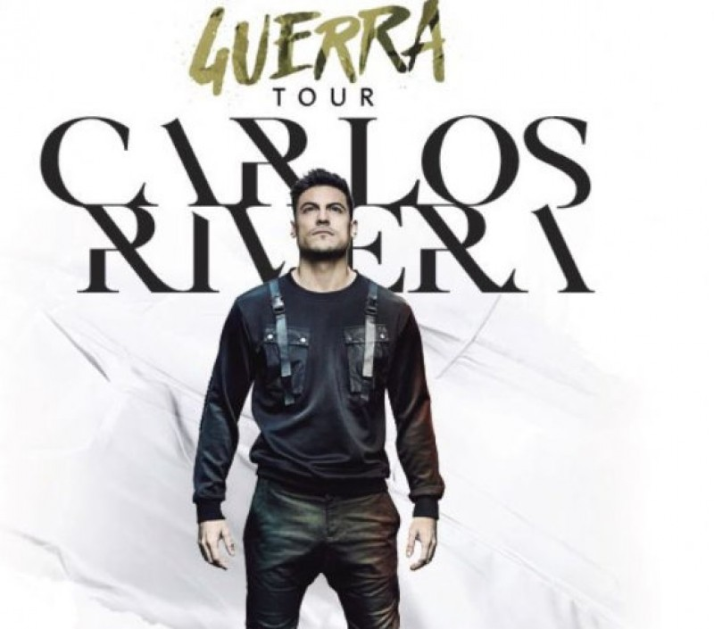 2nd April, Carlos Rivera live in concert at the Auditorio Víctor Villegas in Murcia