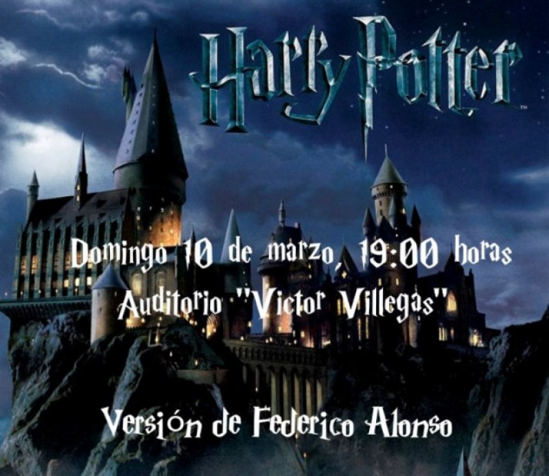 10th March, Harry Potter orchestral music at the Auditorio Víctor Villegas in Murcia