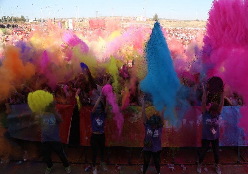 <span style='color:#780948'>ARCHIVED</span> - 23rd February, Holi Life colour run in Cabezo de Torres