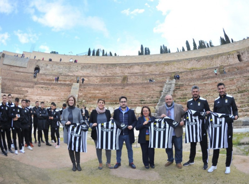 Cartagena Roman theatre museum prolongs shirt promotion deal with FC Cartagena