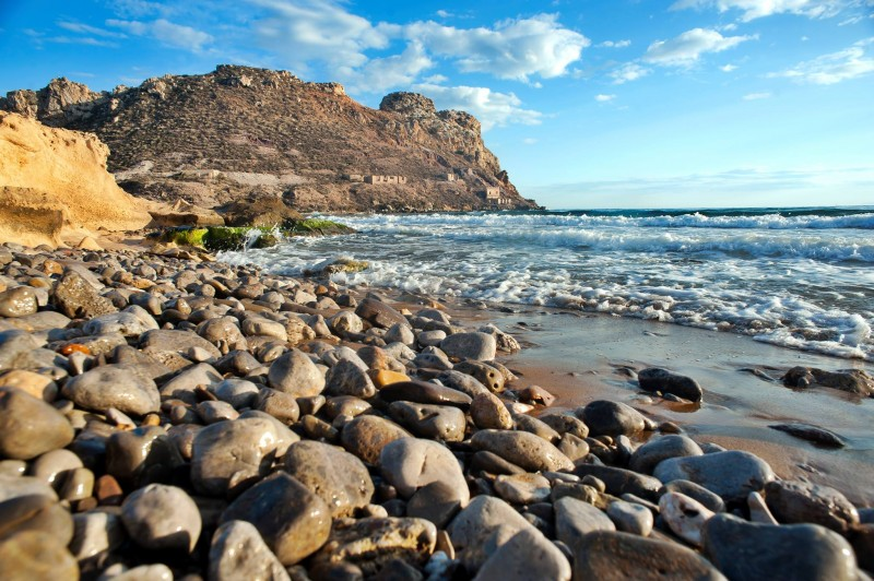 20th January explore the Cuatro Calas coastline of Águilas with this FREE 4km coastal walk