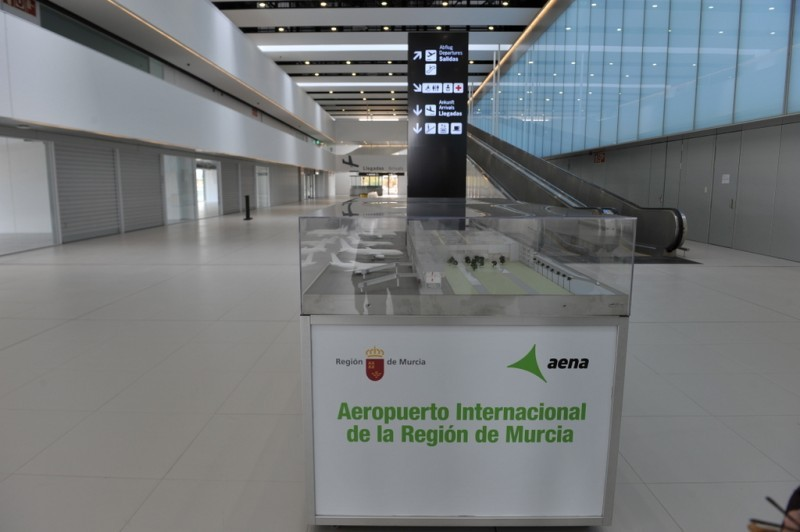 Air safety certification received at Corvera airport 6 days before the first flights