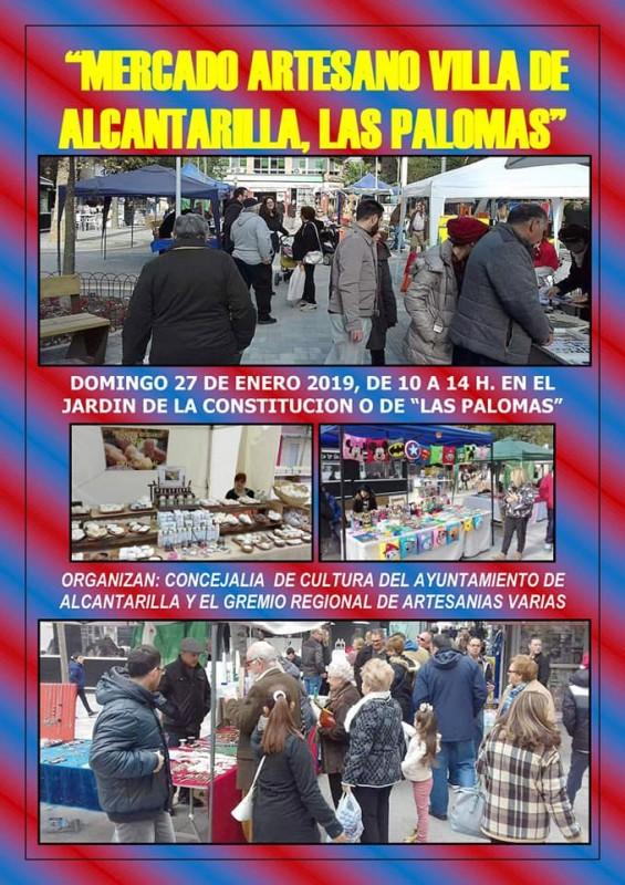 Sunday 27th January Artisan market in Alcantarilla