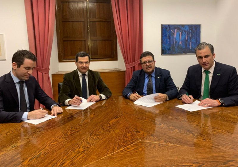 <span style='color:#780948'>ARCHIVED</span> - Ultra-right party tones down demands to enable formation of Andalucía government