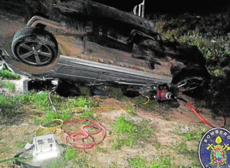 Fatal accident on the inland road between Cartagena and Mazarrón