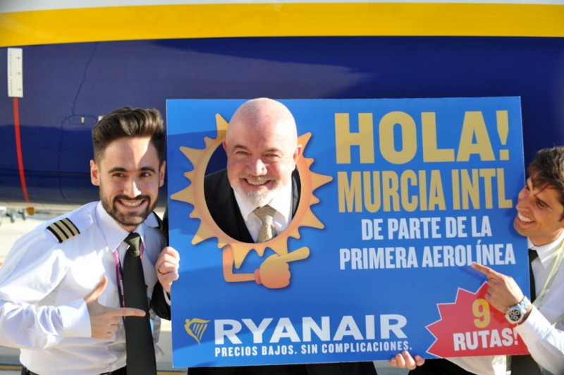 Ryanair stresses commitment to making a success of Corvera airport