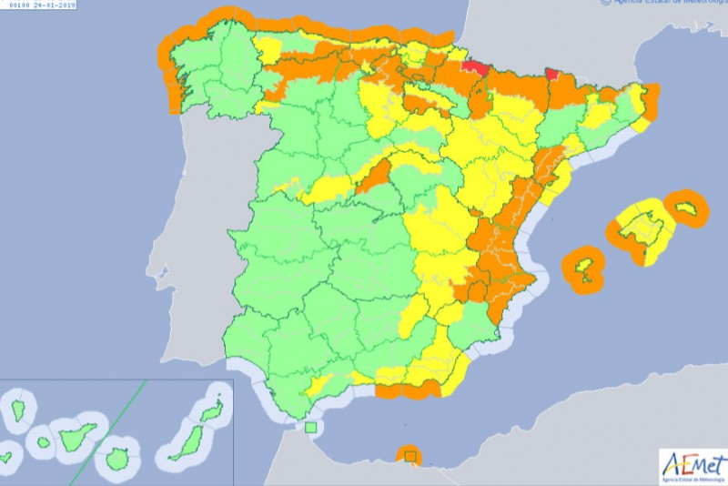 Mountains Of Spain Map.Murcia Today Span Style Color 780948 Archived Span Heavy