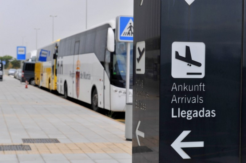 Bus route planned from Mazarrón to Corvera airport