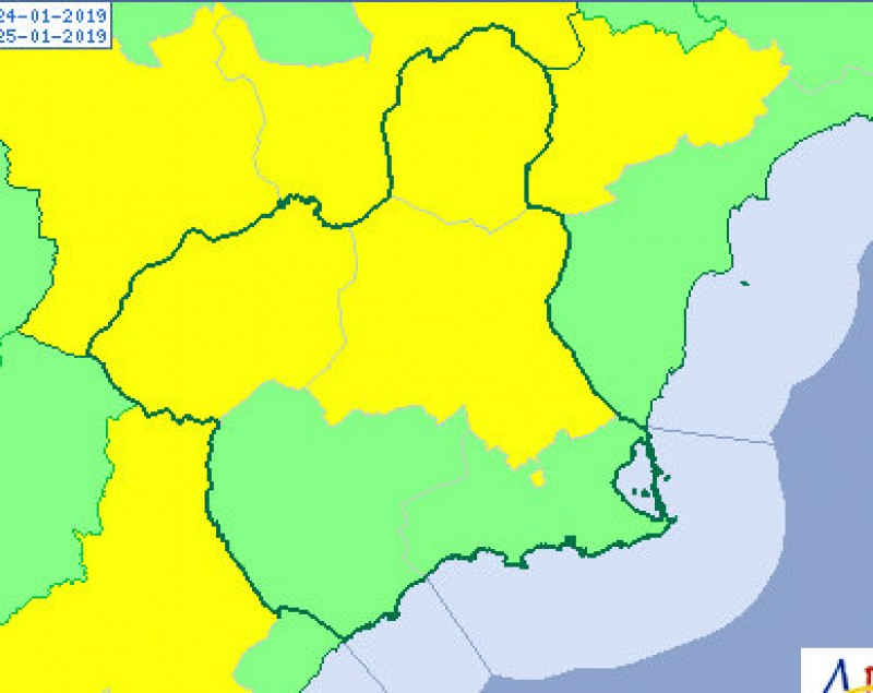 Wind alert remains in place in the Region of Murcia as gusts reach over 80 km/h