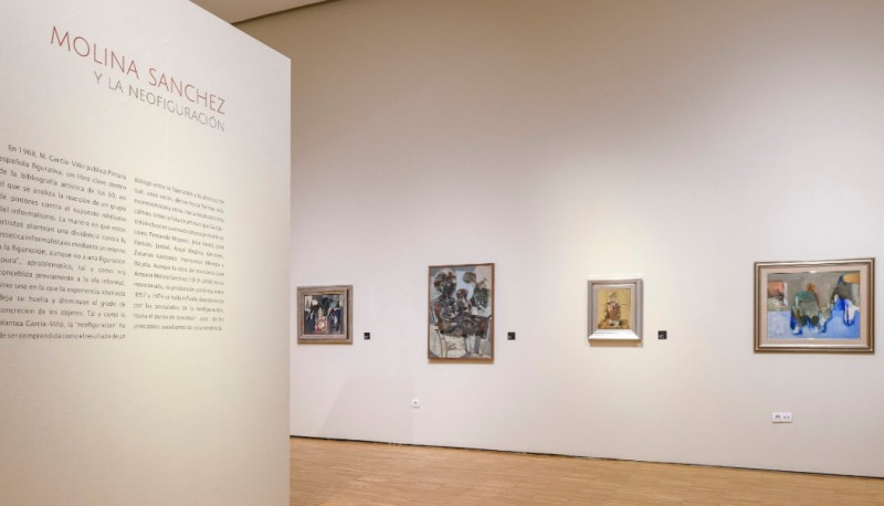 "<span style='color:#780948'>ARCHIVED</span> - Until 24th March, ""Molina Sánchez y la Neofiguración"" exhibition at the Mubam museum in Murcia"