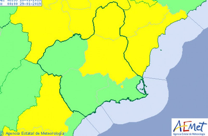 <span style='color:#780948'>ARCHIVED</span> - Águilas the warmest place in Spain on Sunday with 24 degrees!