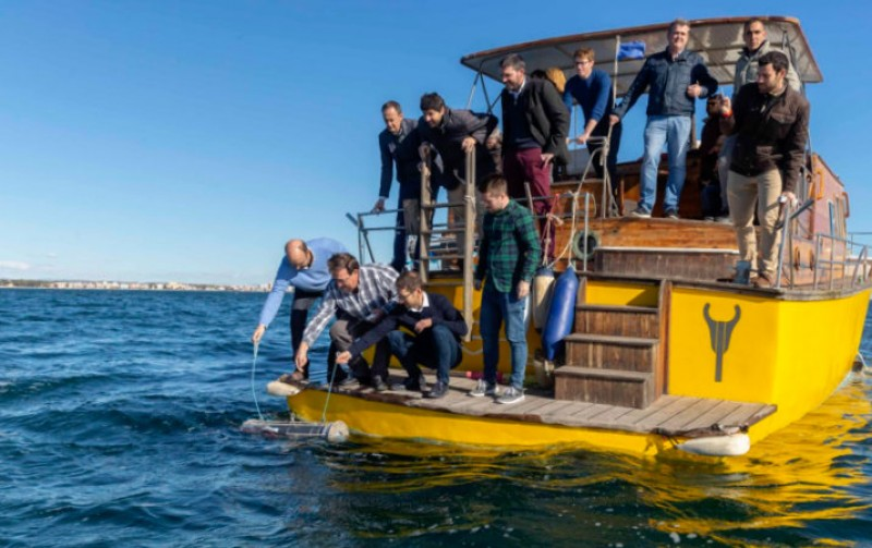 <span style='color:#780948'>ARCHIVED</span> - Nautilus submarine system launched to monitor water quality in the Mar Menor