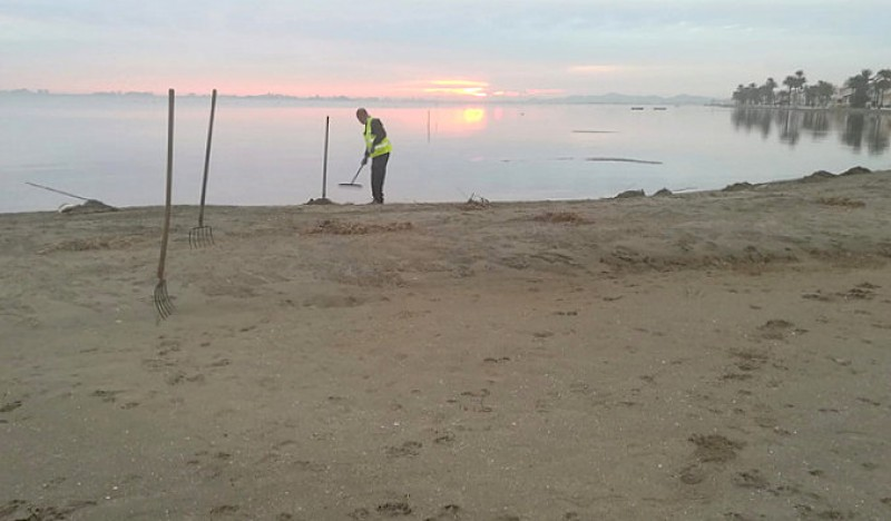 <span style='color:#780948'>ARCHIVED</span> - Measures to reduce flood damage on Mar Menor beaches and local roads