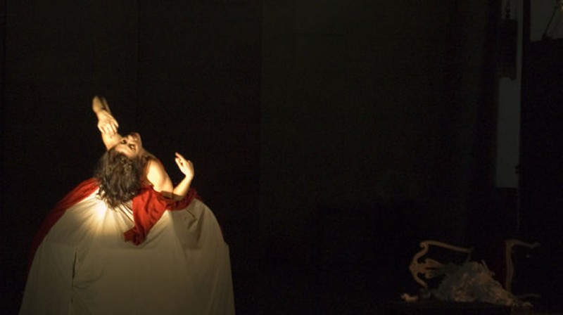 16th February, Bruma, experimental dance at the Centro Párraga in Murcia