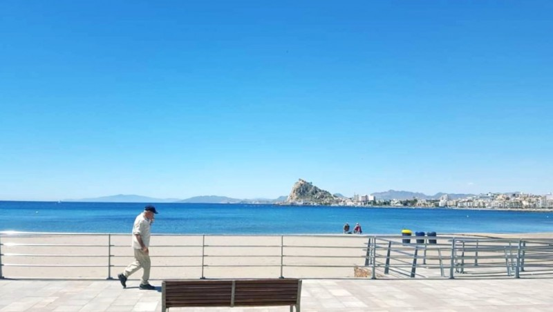More strong wind in the Region of Murcia on Tuesday but sunshine on the coast