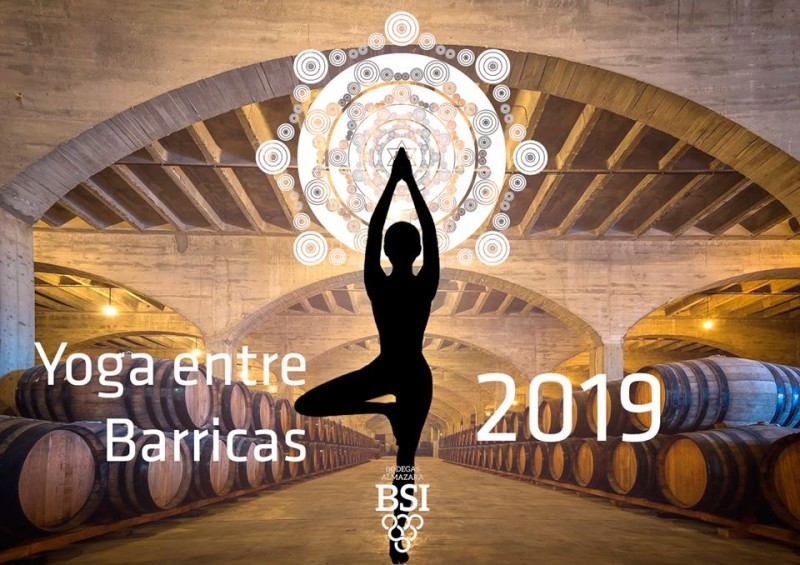 Yoga in Bodegas BSI in Jumilla on Thursdays
