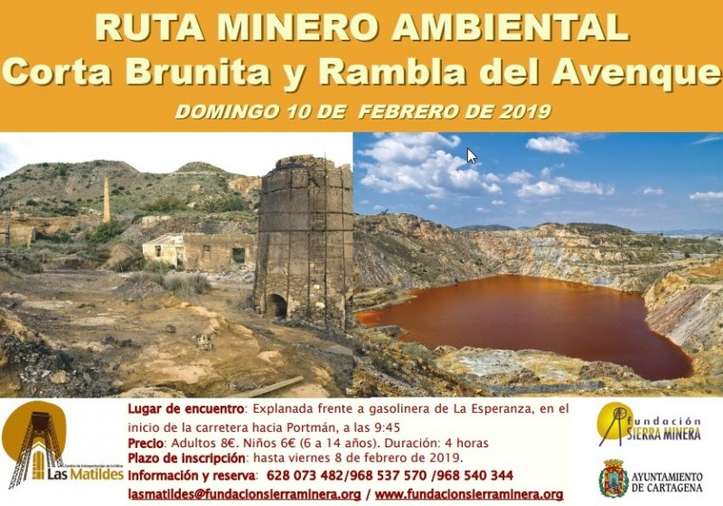 <span style='color:#780948'>ARCHIVED</span> -  10th February 2019 Guided walk in the mining area of Portmán