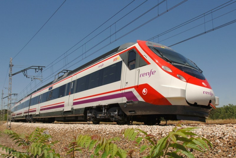 Major rail service disruption in March and April on Murcia-Madrid and Murcia-Alicante routes