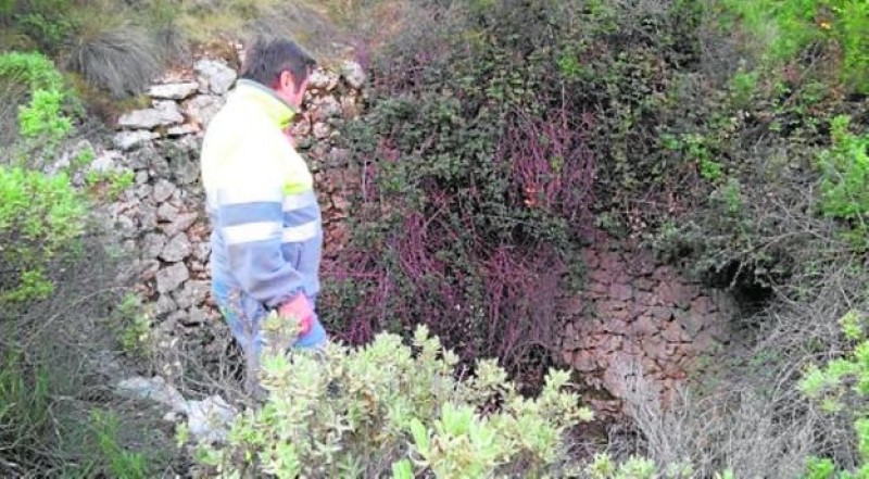 Undocumented snow well discovered in Sierra Espuña