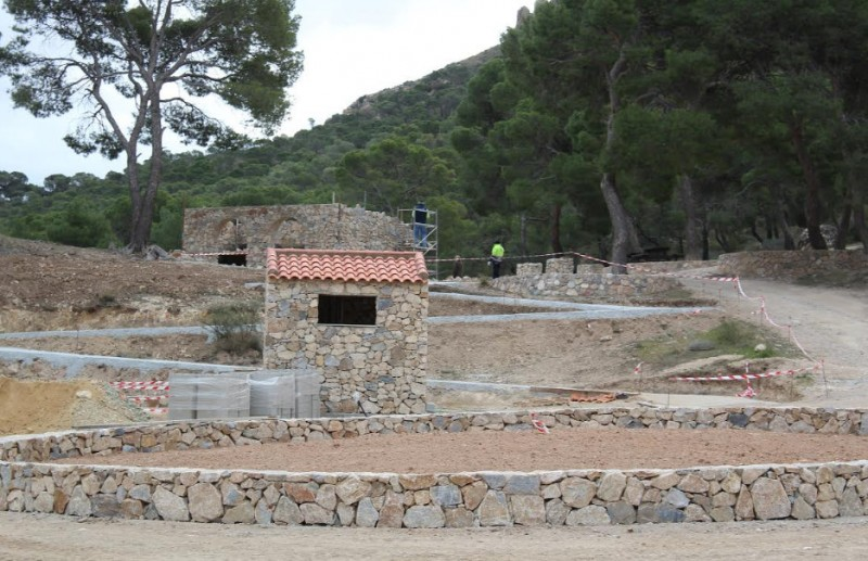 Improved facilities at the Santa Ana beauty spot in the mountains outside Jumilla